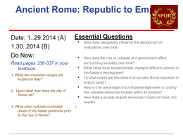 Rome PPT File