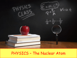 atomic number - iGCSE Science Courses