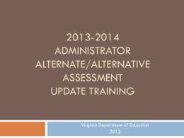 VGLA 2013-2014 - Staunton City Schools