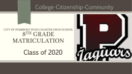 2016-2017 PPCHS 9th Grader Information PPT
