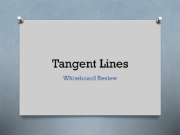 Whiteboards.TangentLines