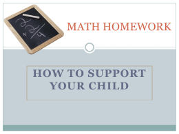 Homework-Support