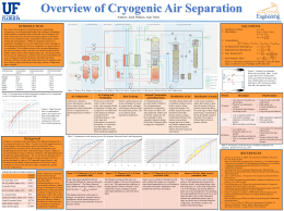 Cryogenic Separations - Chemical Engineering