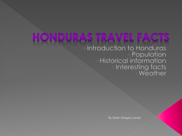 Honduras Travel Facts