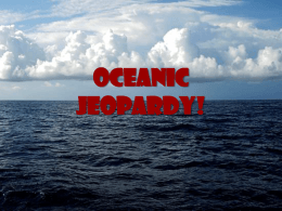 Oceanic Jeopardy!