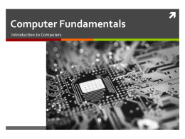 chapter 1-Components of Computer