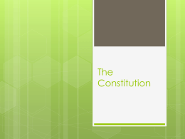 The Constitution - Elizabeth School District C-1