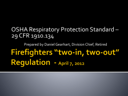 Firefighters *two-in, two