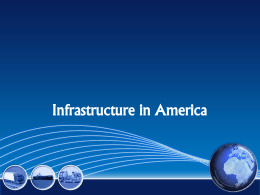 Infrastructure and Infrastructure investments in America File