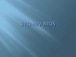 STD-HIV-AIDS - Parma Middle School