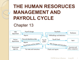 Payroll Cycle