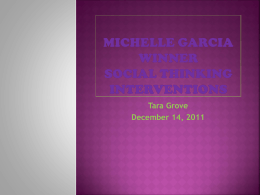 Michelle Garcia Winner Presentation