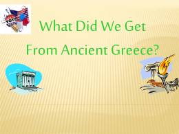Greece Power Point