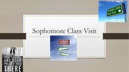 Sophomore Class Visit - Gilbert Public Schools