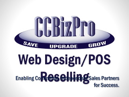 POS/WebDesign PPT