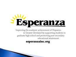 Esperanza-Naviance and SchoolNet