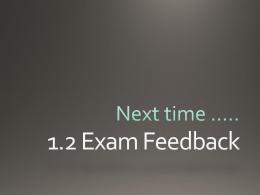 1.2 Visual Text Feedback 2015