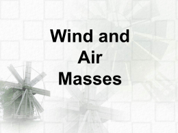 Wind and Air Masses