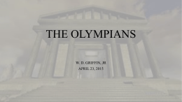 The Olympians - West Creek Latin