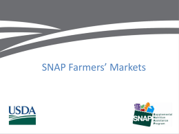 PPT - Colorado Farmers Market Association