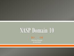 NASP Domain 10