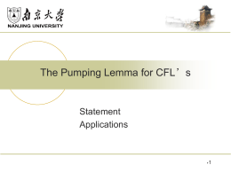 The Pumping Lemma for CFL*s
