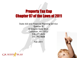 Tax Levy Limit