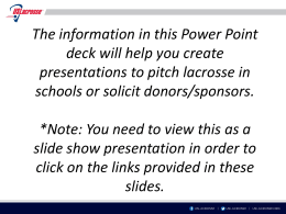 School Presentation Powerpoint