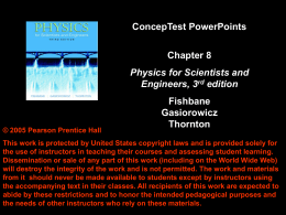 Chap. 8 Conceptual Modules Fishbane