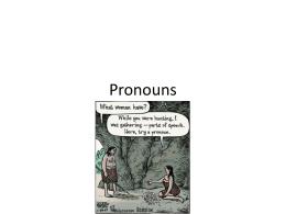 Pronouns - Lakewood City Schools