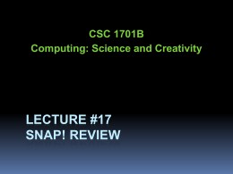 CS61C - Lecture 13 - Arizona Computer Science