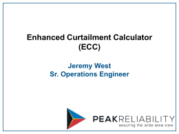 ECC Presentation to WECC ISAS - Aug 20 2014