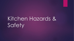 Overview of Kitchen Safety