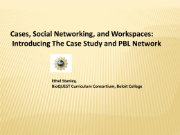 Cases Social Networking Workspaces