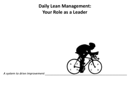 Daily Lean PPT