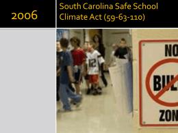 South Carolina Safe School Climate Act