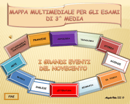 Diapositiva 1 - Istituto Comprensivo Mendola