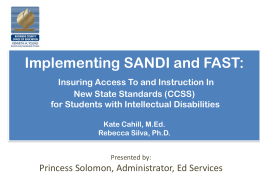 sandi fast - Riverside County Office of Education
