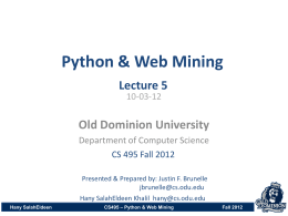 lecture_5-1 - ODU Computer Science