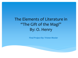 Elements of Literature in
