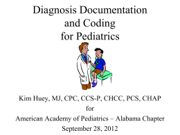 Diagnosis Coding Basics for Physicians