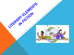 Literary Elements in FIction