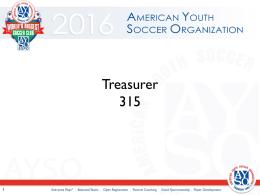 Treasurer PowerPoint Presentation