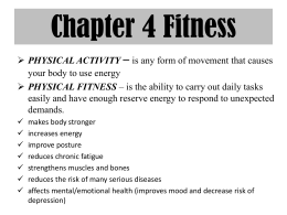 Ch.4 Fitness Powerpoint
