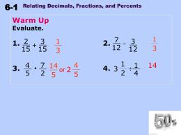 6-1 - PMS-Math