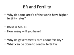 BR and Fertility