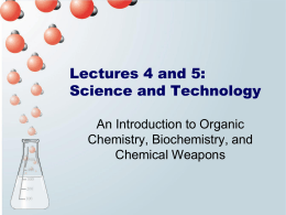An Introduction to Organic Chemistry, Biochemistry, and
