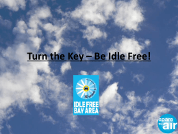 Turn the Key * Be Idle Free