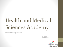 Health and Medical Sciences Academy
