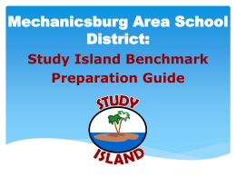 Study Island Benchmark Preparation Guide